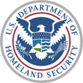 Picture of the seal of the US Department of Homeland Security