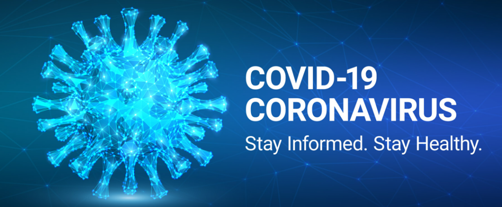 COVID-19 Banner - Stay informed. Stay healthy.